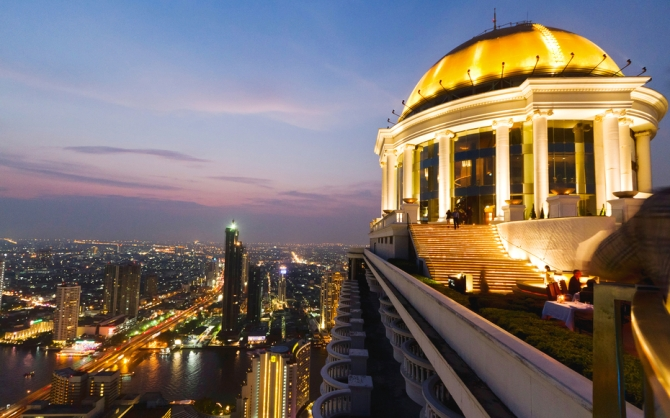 Scirocco Sky Bar, Lebua State Tower, Bangkok, Thailand