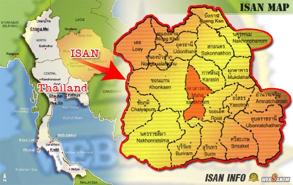 isan_map_maha_sarakham-azja-po-zmroku-tajlandia