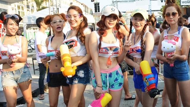 Tajki Tajlandia, Nowy rok, Song kran
