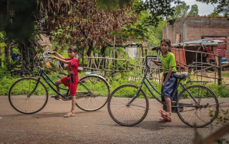 Kambodża, dzieci
