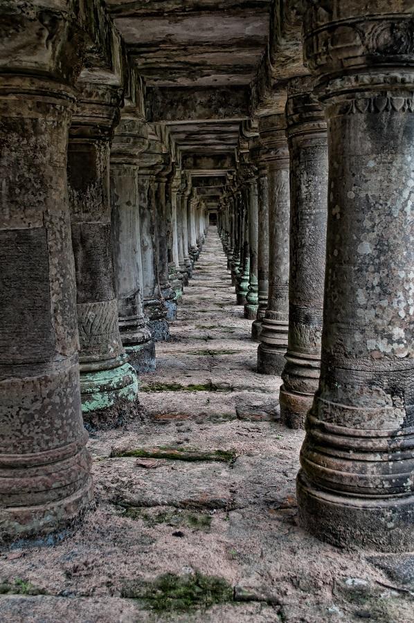 Kambodża, światynia