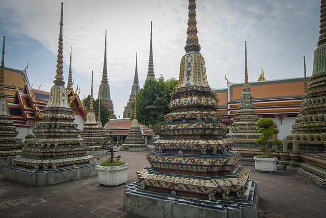 Swiatynia Wat Pho, Bangkok, Tajlandia