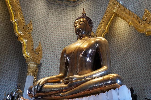 Swiatynia Zlotego Buddy, Wat Traimit, Bangkok, Tajlandia
